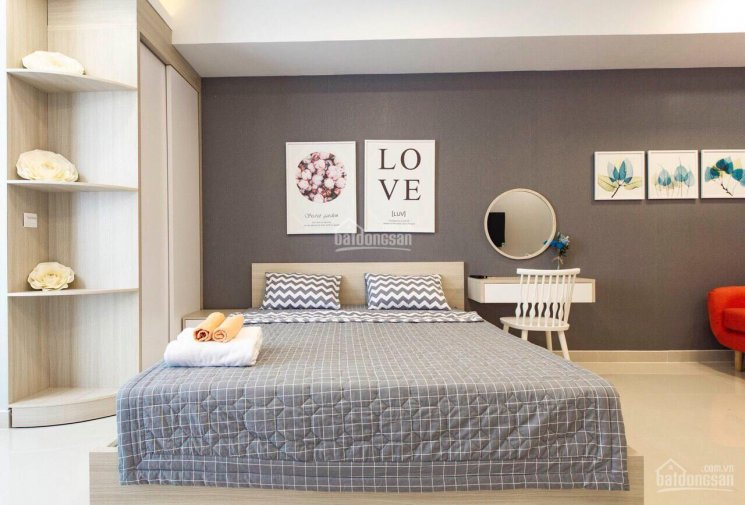 Cho thuê căn hộ Studio Bến Vân Đồn, Quận 4 full nội thất giá 14 triệu/tháng LH 0908268880