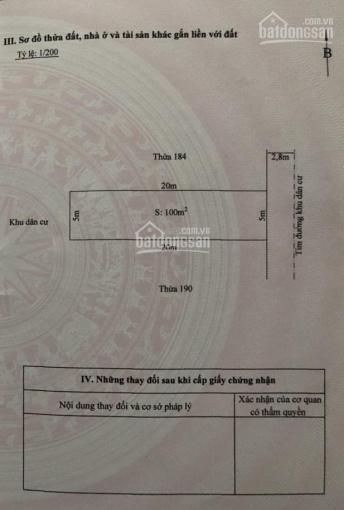 Chuyển nhượng đất mặt ngõ 727 Ngô Gia Tự, Hải An, Hải Phòng