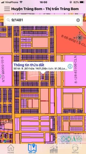 Bán đất chính chủ khu đô thị Gold Hill, TT Trảng Bom, Đồng Nai