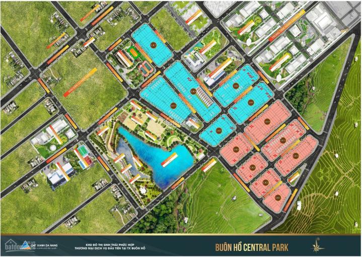 Bán đất khu đô thị Buôn Hồ Central của Đất Xanh, giá 726 triệu (0397890911) ảnh 0