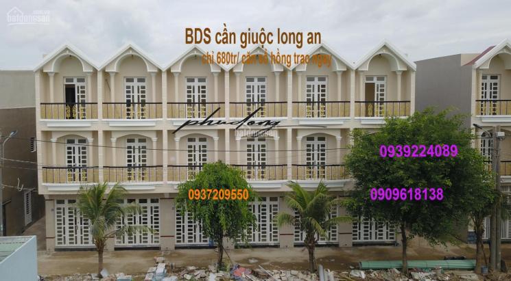 Chỉ 680 triệu sở hữu nhà 1 trệt, 1 lầu, 2 mặt tiền, SH, sát Quốc lộ 50, chính chủ: 0939224089