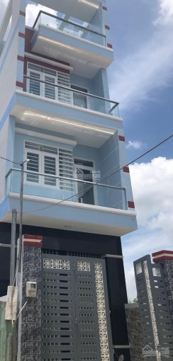Nhà đẹp 4x17m 1 trệt 2 lầu ST đường Số 1 nối dài KDC Nam Hùng Vương, Bình Tân HCM 6,8 tỷ 0907542157