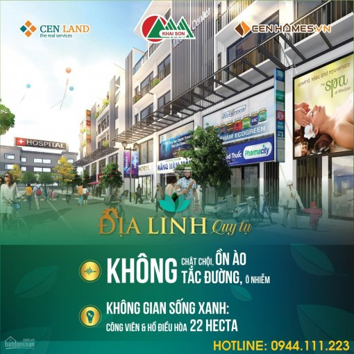 Bung bảng hàng đợt cuối shophouse Khai Sơn, tặng 200tr, CHSH Merc C200, ân hạn LS0%/30th 0946492628