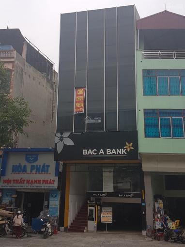 Cho thuê Tầng 4 nhà mặt phố 395 Quang Trung Hà Đông (Có thang máy và thang bộ đi riêng)