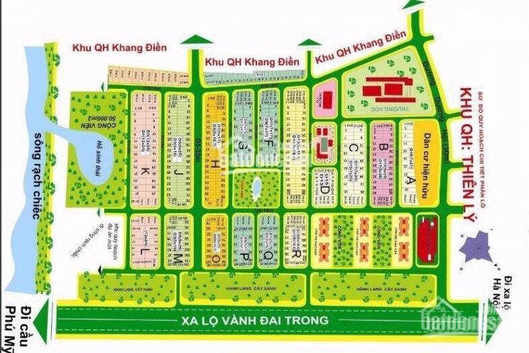 Bán đất nền 120m2 dự án An Thiên Lý, giá 33tr/m2, Dương Đình Hội, Q9, gần Đỗ Xuân Hợp, 0888.4940.21