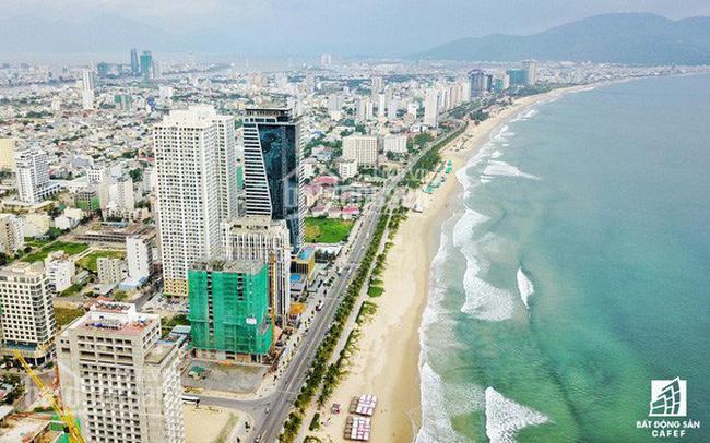 Bán 2 lô đất biển mặt tiền đường Võ Nguyên Giáp, diện tích: 198m2, ngang 10m, giá đầu tư ảnh 0