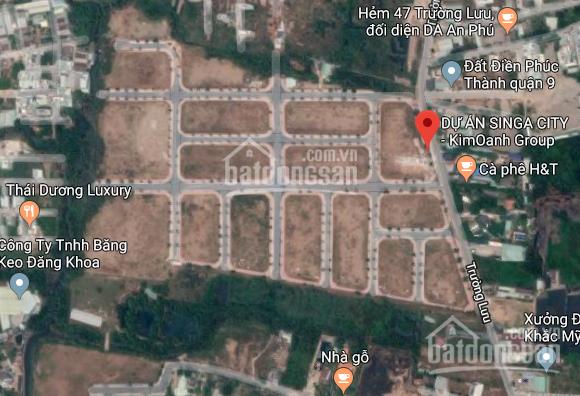 Bán đất dự án Singa City MT Trường Lưu, Long Trường Quận 9. Giá tốt TT 18tr/m2 sổ hồng,  0931022221