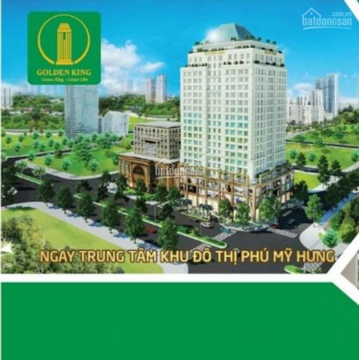 Bán căn hộ Officetel Golden King, mặt tiền Nguyễn Lương Bằng, Quận 7. LH: 0901396009
