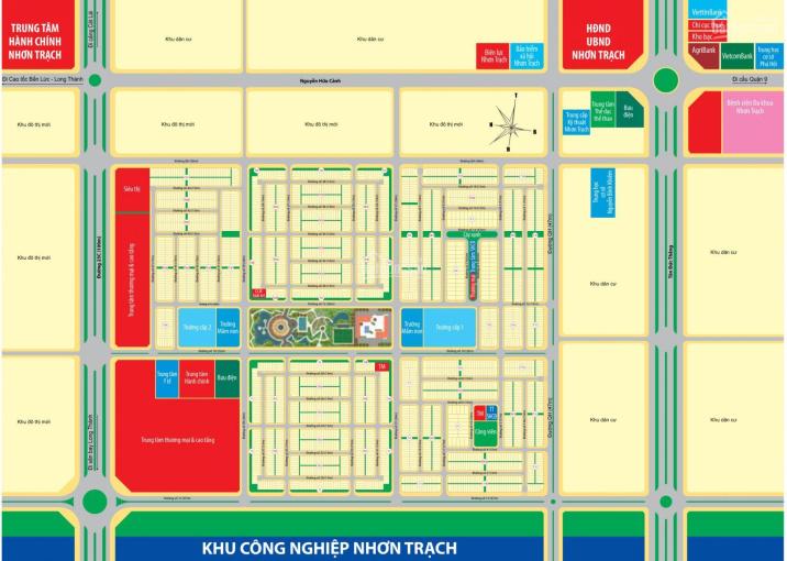 Bán đất Nhơn Trạch giá rẻ 780 triệu/nền, dự án Mega City 2 Phú Hội, ngay trung tâm hành chính