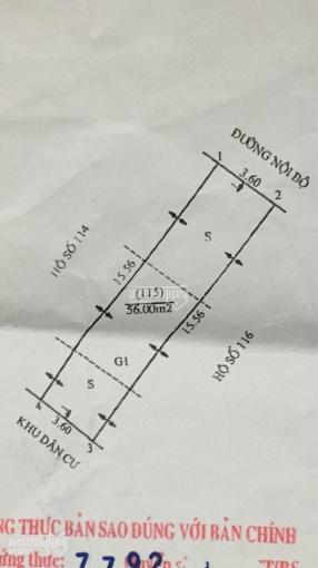 Bán đất tại khu tập thể - Xã Đình Xuyên - Huyện Gia Lâm - TP Hà Nội, diện tích: 56m2