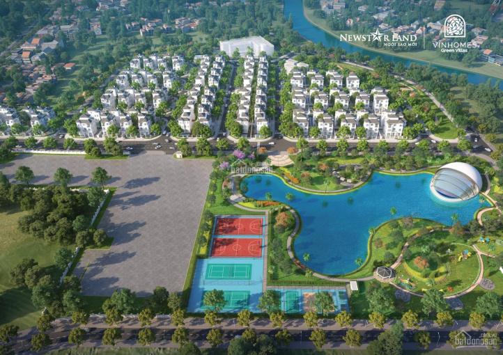 Lô góc GV10 - 02 Vinhomes Green Villas với giá bán siêu ưu đãi từ Vinhomes. LH 090 176 28 38