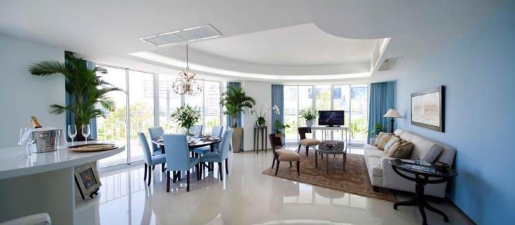 Cho thuê căn hộ Azura, ngay bên dòng Sông Hàn, thành phố Đà Nẵng, DT 65-152m2, giá từ 19.8tr/tháng