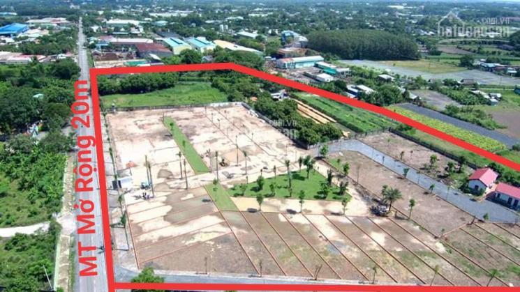 Bán đất nền mặt tiền đường Trần Văn Chẩm, Củ Chi. TT 600tr nhận nền xây dựng, LH: 0903845369