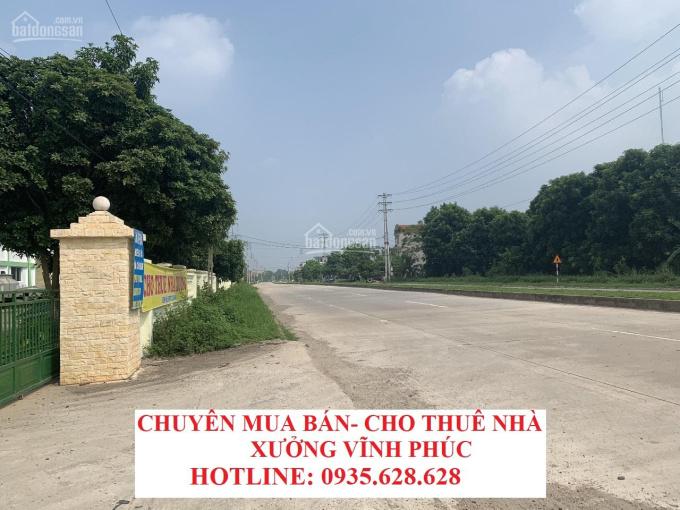 Bán gấp lô đất doanh nghiệp 7 ha KCN Bình Xuyên - Vĩnh Phúc - Giá chỉ 2,x triệu/m2. LH: 0935628628