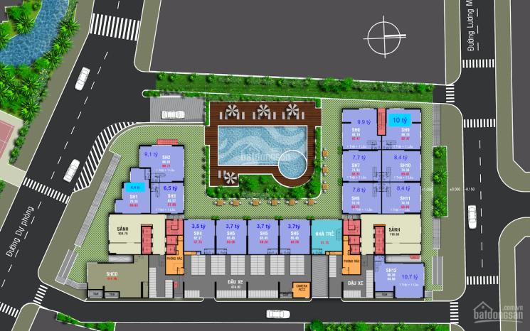 Shophouse Carillon 7 Tân Phú, 3,7tỷ/căn, cho thuê từ 15 triệu/tháng
