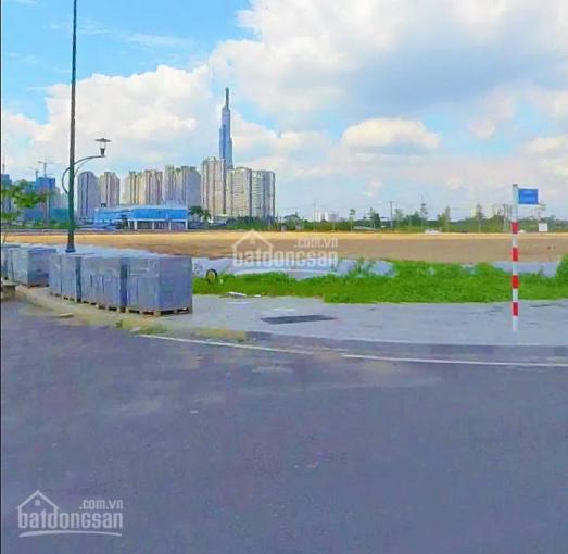 Bán đất MT Nguyễn Cơ Thạch, Q2, sổ hồng TC 100% gần cầu Thủ Thiêm giá 22tr/m2. LH 0918590820 Nhi