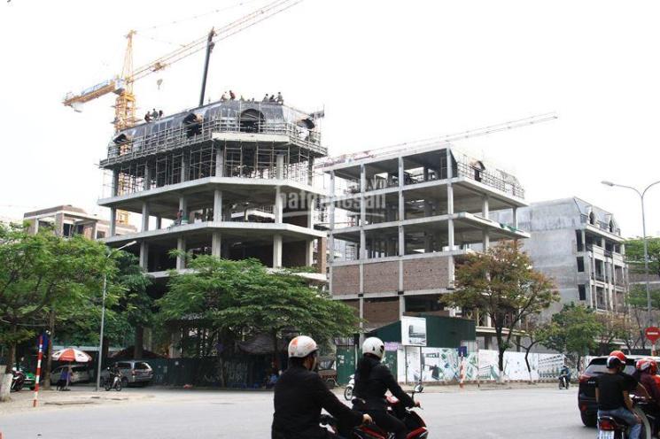 Gấp cần bán lô góc shophouse phố Wall mặt đường Trần Thái Tông. Sổ đỏ chính chủ
