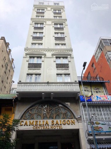 Cần tiền bán gấp khách sạn P. Nguyễn Thái Bình Quận 1 DT: 4.2x17.5m 8 tầng thu nhập hơn 2 tỷ/năm
