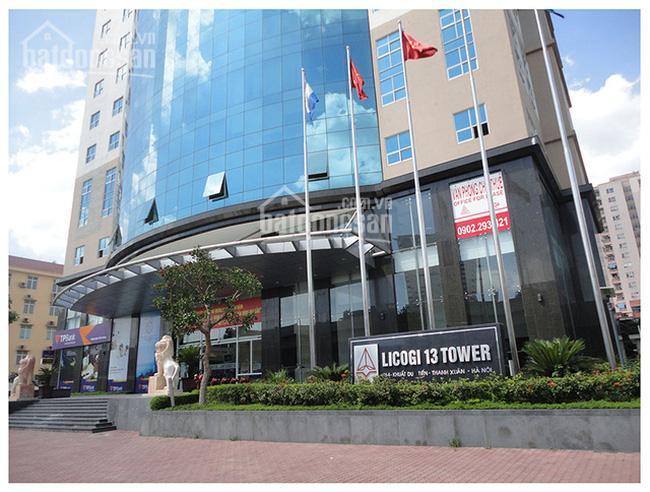 Cho thuê sàn VP tòa Licogi 13 Khuất Duy Tiến, Thanh Xuân, HN. DT 270m2, giá 234 nghìn/m2