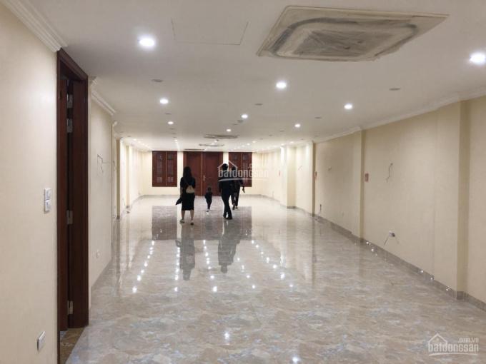Cho thuê nhà MP Trần Nhân Tông, DT 90m2 x 8 tầng, MT 9m, cho thuê giá tốt, vị trí đắc địa
