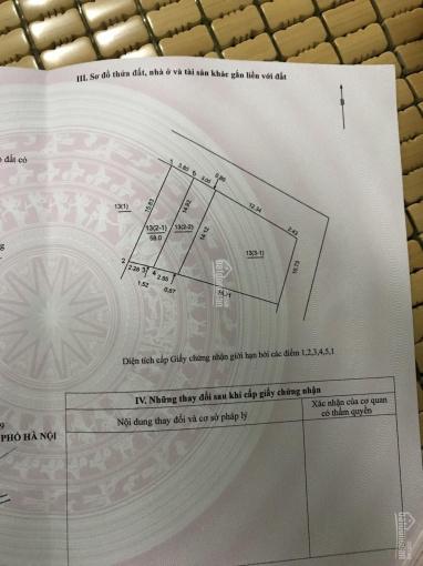 Chính chủ mở bán 2 lô đất 112m2 tại thôn Sáp Mai, Võng La, Đông Anh, HN. LH: 0976212035