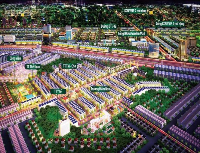 Đất khu dân cư Việt Sing 2 giá chỉ 680 tr/nền