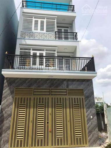 Nhà trệt 3 lầu 5.2x12.9m sẹc Trần Thị Hè, ngã 3 Đông Quang