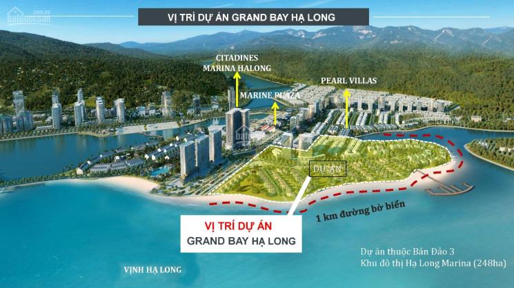 Bán biệt thự ngay mặt Vịnh Hạ Long 3 tầng, 300m2 với giá 18 tỷ, LH 0334749630