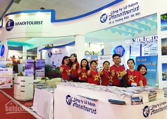 Công ty Lữ hành - Hà Nội Tourist - Cần thuê gấp 100 mặt bằng kinh doanh phòng bán vé và khách sạn