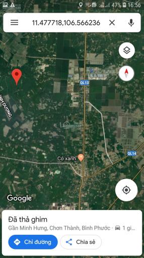 Bán đất mẫu 71474m2 (200m x 360m) có 400m2 thổ cư (hơn 7ha) xã Minh Hưng, Chơn Thành, Bình Phước