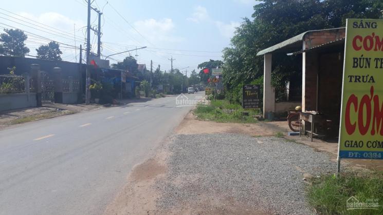 Bán nhà đất mặt tiền HL416, 300m2 (183m2 thổ cư) chợ Tân Định, huyện Bắc Tân Uyên, Bình Dương