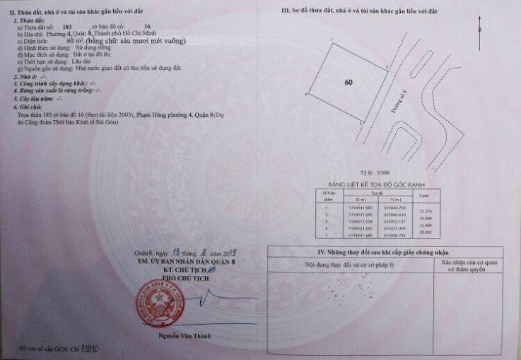 Hot! Duy nhất 20 nền mặt tiền đường Phạm Hùng, sổ riêng từng nền, liên hệ ngay 0902259220