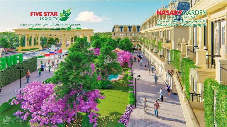 Nhà phố thương mại (shophouse) dự án khu đô thị sinh thái 5 sao quy mô 420ha. Hotline: 0901 374744