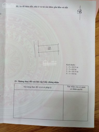 Bán đất đấu giá ở sát trường cấp 1 Yên Thường, diện tích: 108,5m2, rộng: 6m, dài: 18 m, lô góc