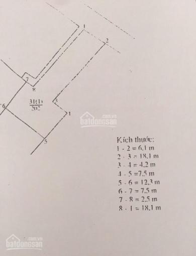 Cơ hội cho các nhà đầu tư mảnh đất 202m2 trên trục chính An Đào - Trâu Quỳ - Gia Lâm - HN