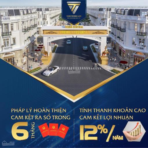 Icon Central - mặt tiền chợ Thông Dụng, Phú Hồng Thịnh cam kết mua lại với lợi nhuận 12%