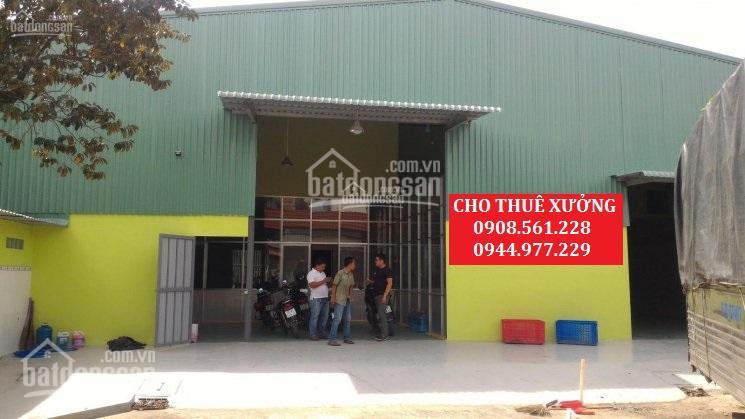 Cho thuê nhà xưởng phường An Phú Đông, quận 12, DT: 1000m2, giá 40 triệu/tháng. LH: 0937.388.709 ảnh 0