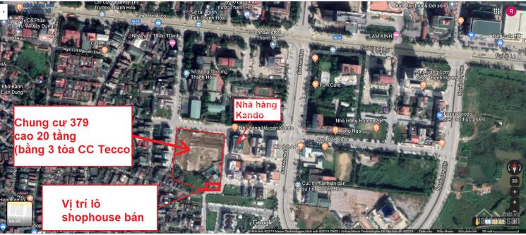Bán đất kinh doanh cạnh chung cư 379 Đông Hương - TP. Thanh Hoá. LH 0941697266