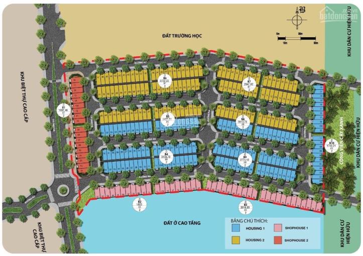 Mở bán nhà phố Ecohome 2 nằm trong khu đô thị cao cấp Ecolakes 1,5 tỷ/1 căn
