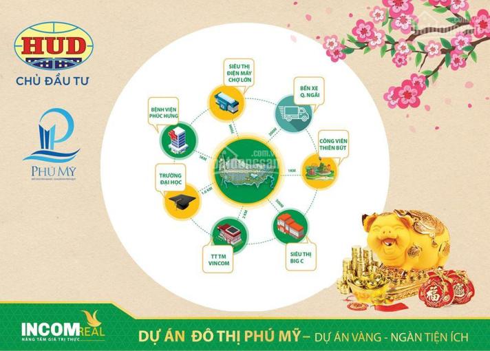 Siêu phẩm shophouse 50m - Dự án Khu đô thị Phú Mỹ Quảng Ngãi