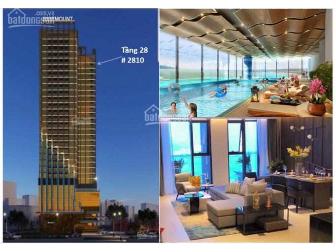 Chính chủ cần chuyển nhượng gấp căn hộ góc 2 phòng ngủ, tầng 28 - Risemount Apartment, giá 4,85 tỷ