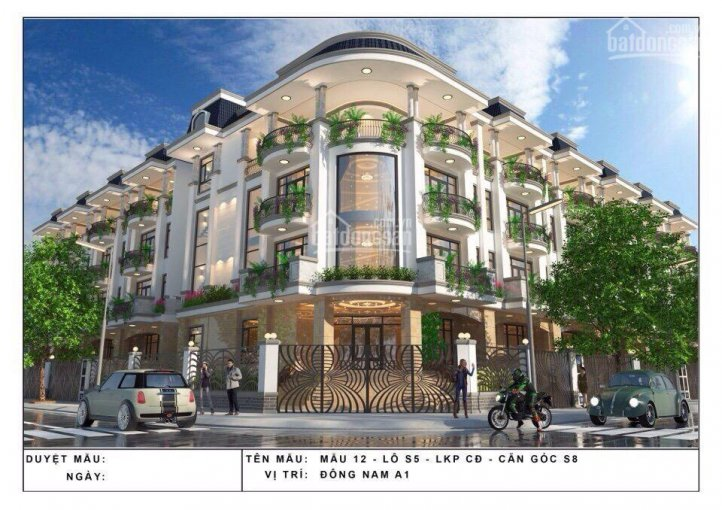 Nhà thô block L5, K5 KĐT Vạn Phúc, 7x19m, đường 25m, hầm + 5 lầu giá chỉ 14.8 tỷ thương lượng