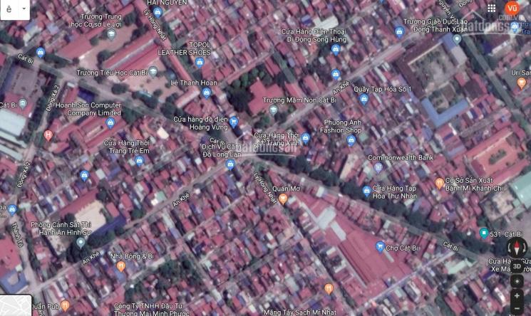 Bán nhà mặt đường Cát Bi đoạn ngã 6 chợ Cát Bi, giá 1.9 tỷ, Hải An, Hải Phòng