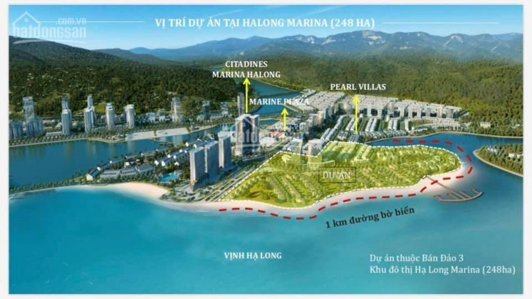 Grand Bay Villas Hạ Long vị trí duy nhất có cầu thông bao biển Bim - Sun, LH: 0975.995.114
