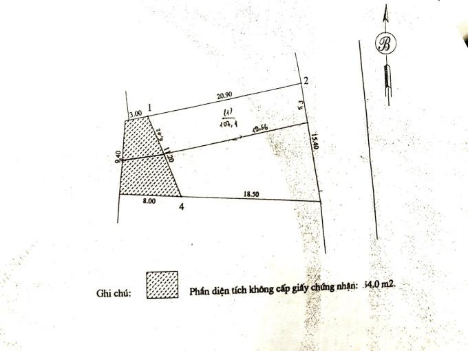 Cần bán 107.1 m2 đất ở (SĐCC) cạnh đường đôi 40m (TT Yên Viên - Đình Xuyên - Phù Đổng)