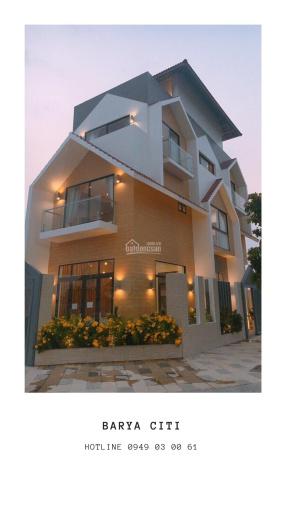 Nhà phố kiểu mẫu cao cấp bậc nhất Bà Rịa, ngân hàng cho vay đến 85%. LH 0938 632 078