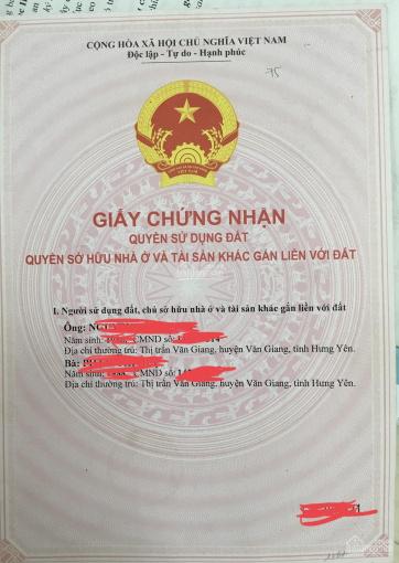 Bất động sản khu 4,3ha - thị trấn Văn Giang