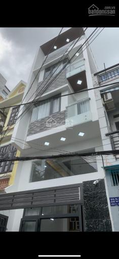 Cho thuê nhà 4 tấm mặt tiền đường Nguyễn Thái Bình, Phường 4, Quận Tân Bình