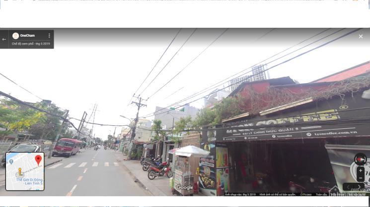 Bán nhà mặt tiền ngay trường THCS Phan Đăng Lưu phường 6, quận 8, giá 7,8 tỷ