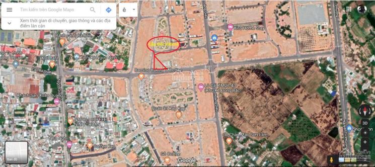 Bán cặp góc trung tâm TP Phan Rang Tháp Chàm - Đường Cao Bá Quát - Đất 3 mặt tiền đẹp 230m2 ảnh 0
